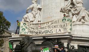 déjà en 2014 des marches pour le climat avenir lieu dans le monde entier dont à Paris
