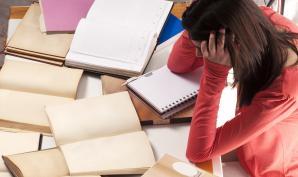 """stress des élèves avec les E""""C"""